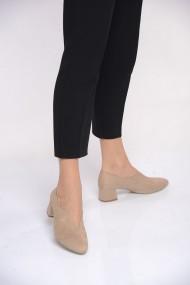 Pantofi cu toc ShoesTime 19K 106 Bej