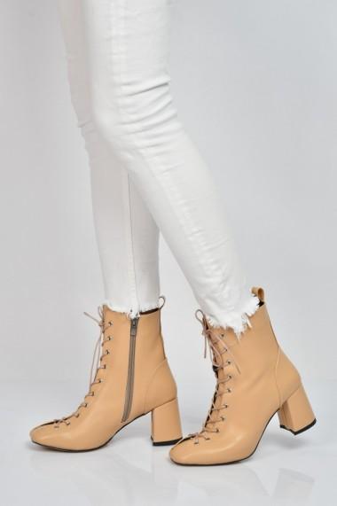 Botine ShoesTime 19K 622 Nude
