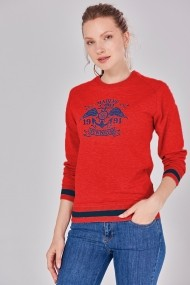 Bluza Jimmy Sanders 19W JSSW8002 RED Rosu