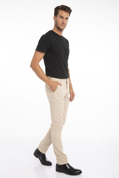 Pantaloni Jimmy Sanders 19W PM11000 BEIGE Bej