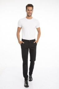Pantaloni Jimmy Sanders 19W PM11000 BLACK Negru