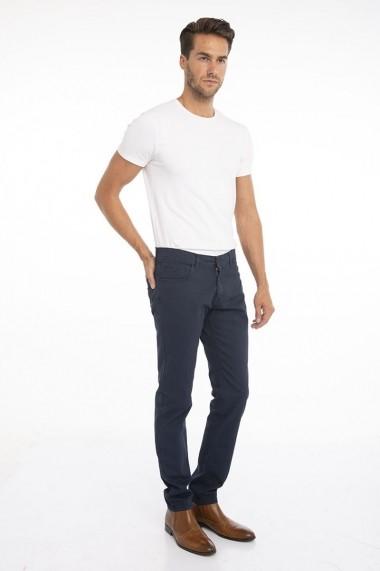Pantaloni Jimmy Sanders 19W PM11002 NAVY Bleumarin