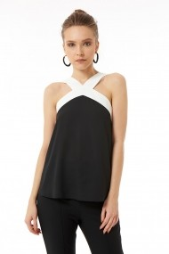 Top Jimmy Sanders 19W SHTW51018 BLACK Negru