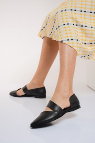 Balerini ShoesTime 19Y 100 Negru