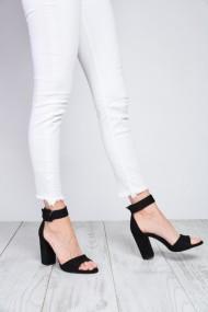 Sandale cu toc ShoesTime 19Y 2216 Negru