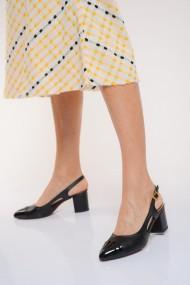 Pantofi cu toc ShoesTime 19Y 3400 Negru