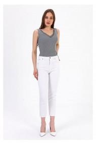 Jeans TIFFANY A0055Y833T-A12 Alb