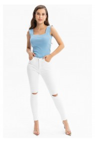 Jeans TIFFANY A0405Y833T-A12 Alb