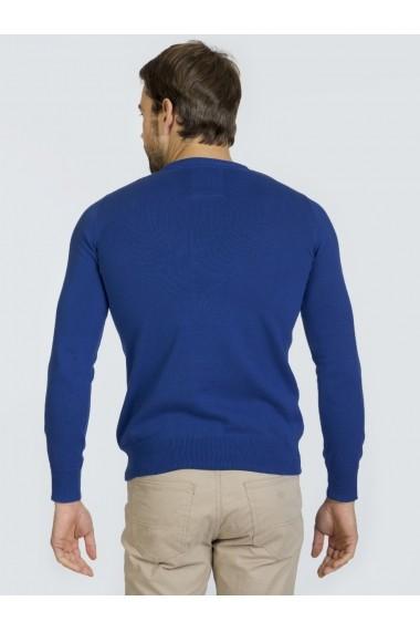 Pulover Denim Culture B-13181-7 Albastru