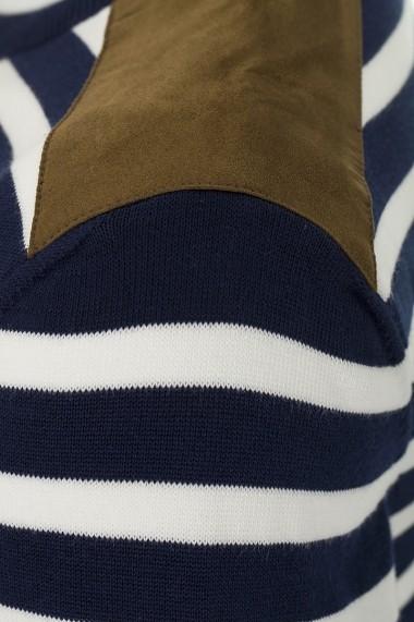 Pulover Denim Culture B-1525-2 Bleumarin