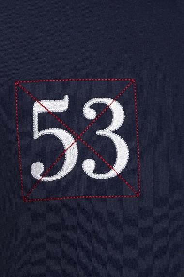 Tricou Polo Denim Culture MAS-B-201 NAVY Bleumarin - els