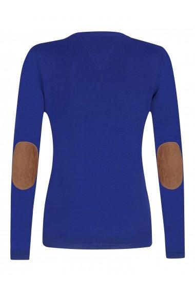Cardigan Denim Culture B-2725 Albastru