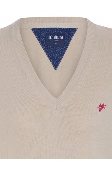 Pulover Denim Culture B-2760 Bej