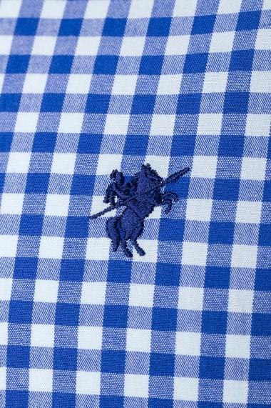 Camasa Denim Culture B-7603-7 Albastru