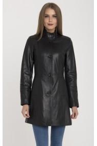 Jacheta din piele IPARELDE MAS-B105 Black Negru - els