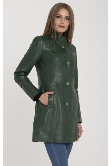 Jacheta din piele IPARELDE MAS-B105 Green Verde - els