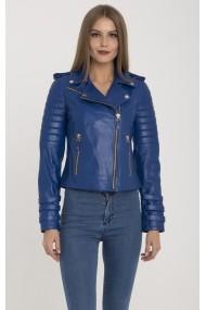 IPARELDE Bőr dzsekik MAS-B2114_Blue