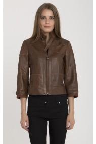 Jacheta din piele IPARELDE MAS-B225 Chestnut Maro