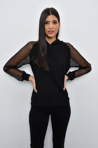 Bluza Cool & Sexy B31 negru