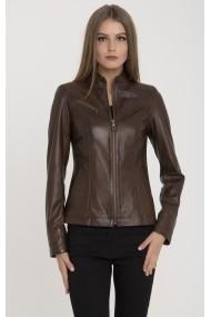 Jacheta din piele IPARELDE MAS-B94 Chestnut Maro
