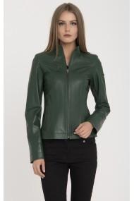 Jacheta din piele IPARELDE MAS-B94 Green Verde