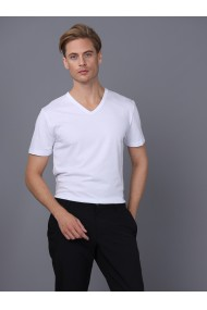 Tricou BASICS & MORE BA228760 Alb