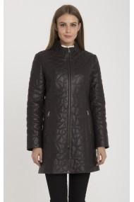 Jacheta din piele IPARELDE MAS-BDR030 Brown Maro
