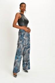 Pantaloni Quincey DPM4029 Turcoaz