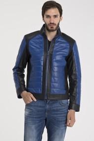 Jacheta din piele IPARELDE MAS-E1923 Blue Albastru