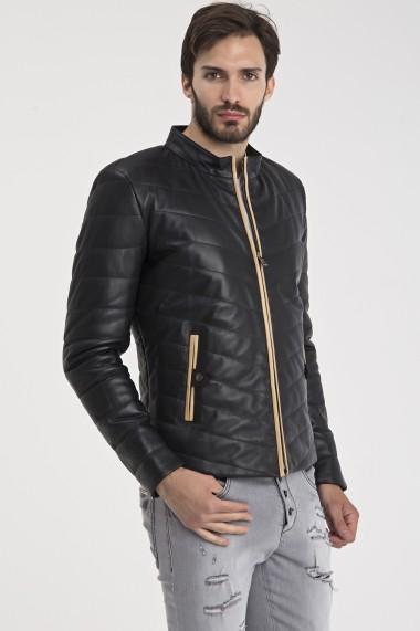 Jacheta din piele IPARELDE MAS-E1980 Black Negru