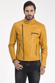 Jacheta din piele IPARELDE MAS-ES110 Yellow Galben