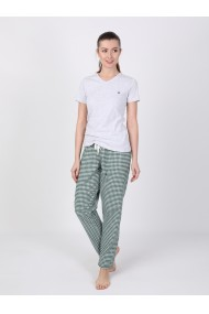 Pantaloni de pijama FELIX HARDY FE104925 Verde
