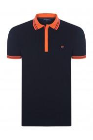 Tricou Polo FELIX HARDY FE115230 Negru
