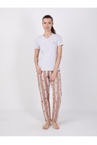 Pantaloni de pijama FELIX HARDY FE142779 Maro