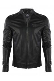 Jacheta din piele FELIX HARDY FE1567906 Negru