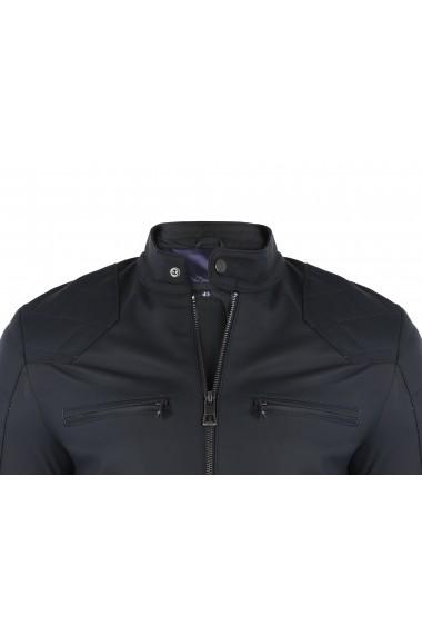Jacheta din piele FELIX HARDY FE1854184 Bleumarin