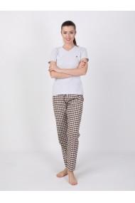 Pantaloni de pijama FELIX HARDY FE215346 Maro