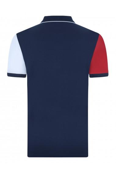 Tricou Polo FELIX HARDY FE221847 Bleumarin