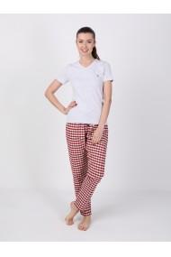 Pantaloni de pijama FELIX HARDY FE258672 Rosu
