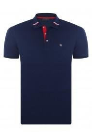 Tricou Polo FELIX HARDY FE273727 Bleumarin