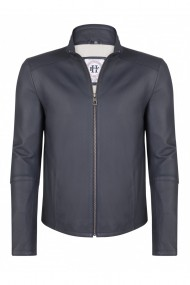 Jacheta din piele FELIX HARDY FE2874795 Bleumarin