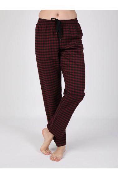 Pantaloni de pijama FELIX HARDY FE314807 Bordo
