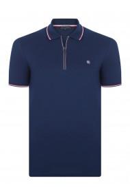 Tricou Polo FELIX HARDY FE335589 Bleumarin