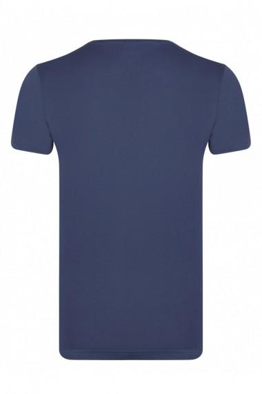 Tricou FELIX HARDY FE3617248 Bleumarin