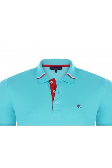 Tricou Polo FELIX HARDY FE400028 Albastru