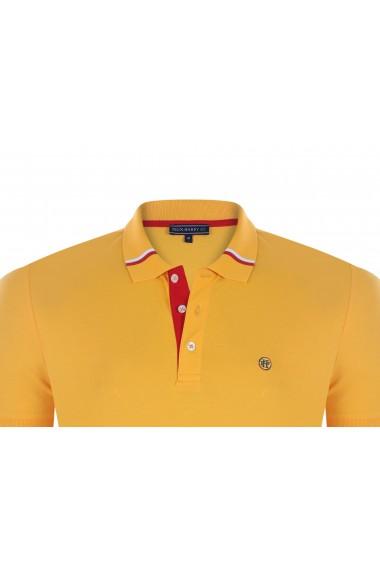 Tricou Polo FELIX HARDY FE401088 Galben