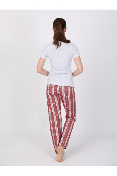 Pantaloni de pijama FELIX HARDY FE414072 Rosu