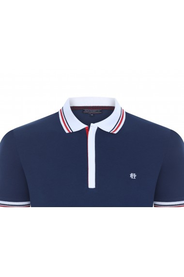 Tricou Polo FELIX HARDY FE415369 Bleumarin