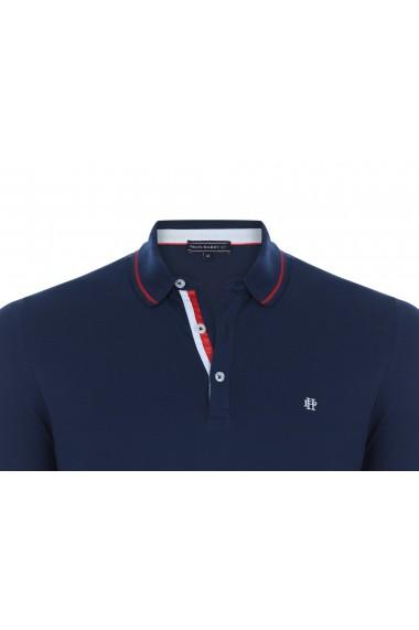 Tricou Polo FELIX HARDY FE479254 Bleumarin