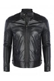 Jacheta din piele FELIX HARDY FE8777424 Negru